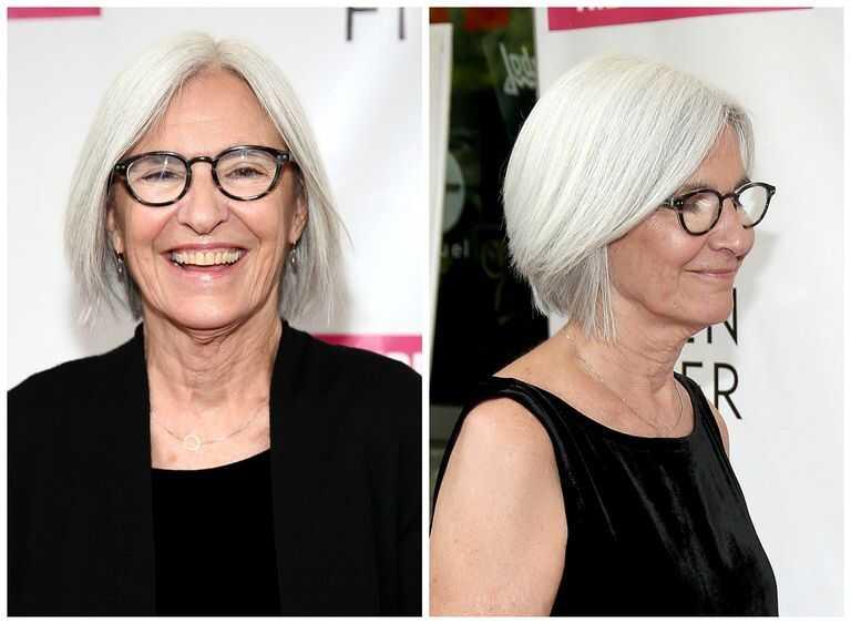 Til ældre kvinder frisurer Kort Frisure